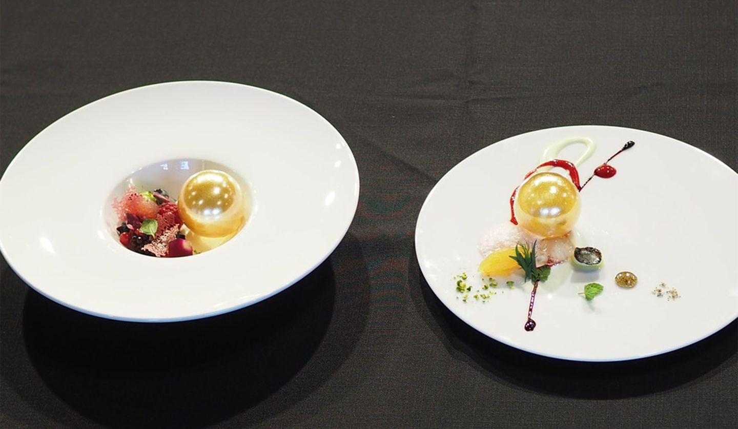「SUCRE FRUITS ROUGE」と「SUCRE TRUFFE」