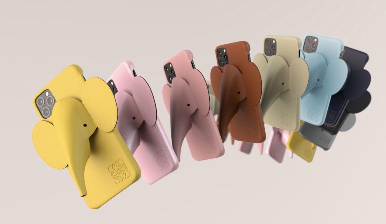 ロエベのエレファントiPhoneケース