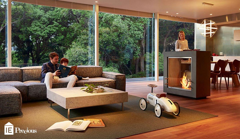 バイオエタノール暖炉「エコスマートファイヤー」の「FUSION(フュージョン)」