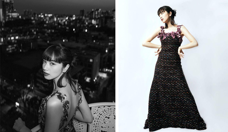 第44回日本アカデミー賞授賞式で小松菜奈さんが着用したシャネルのドレス