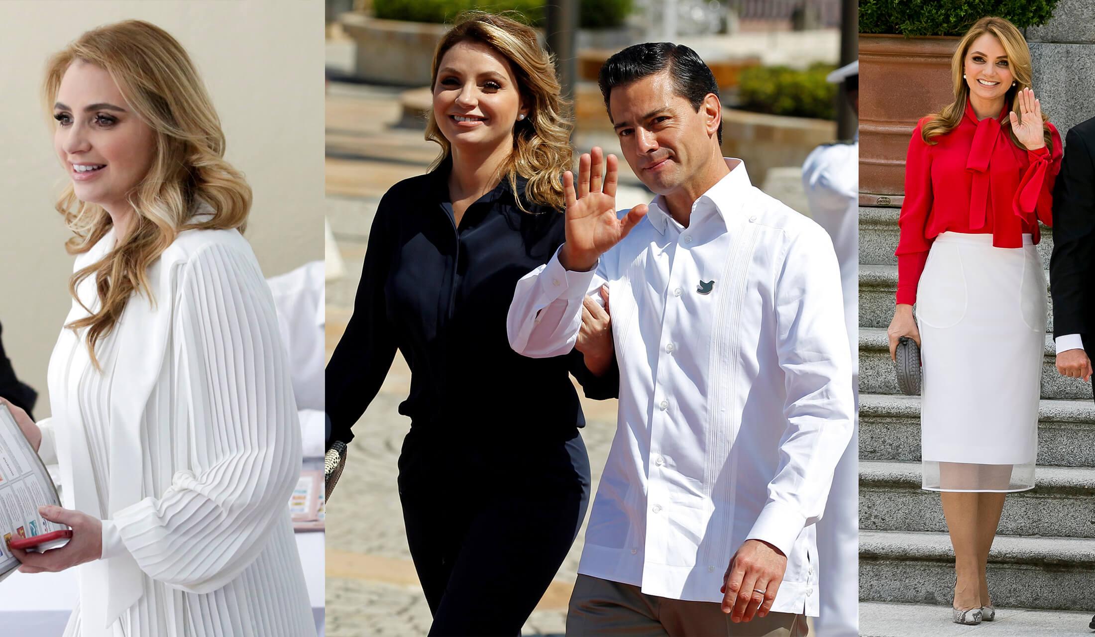 メキシコ大統領とアンジェリカ・リベラ夫人