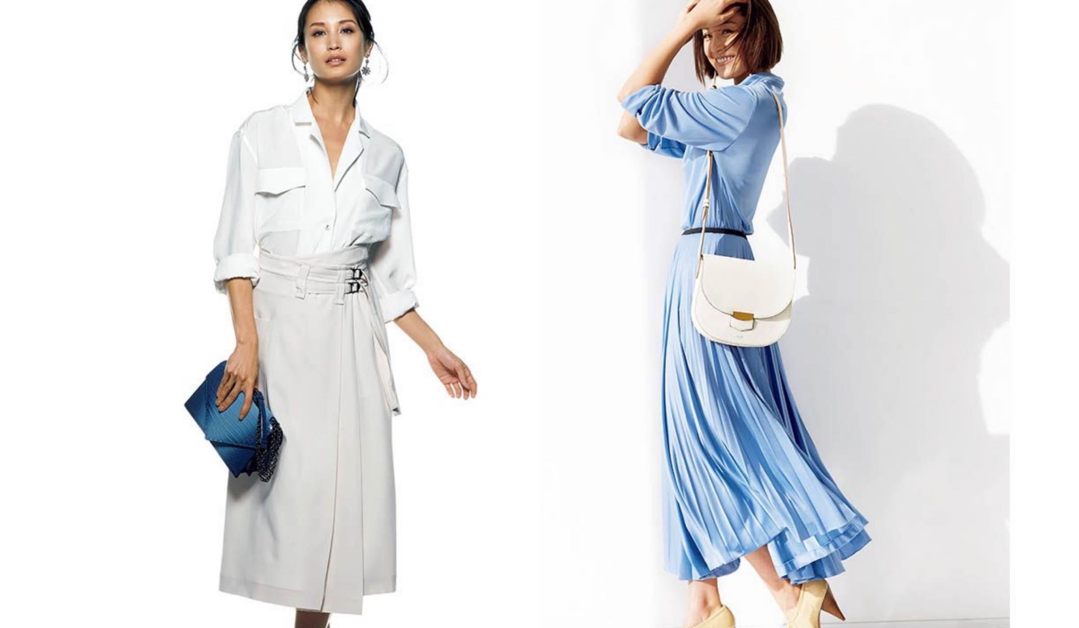 清潔感のある大人のレディースきれいめファッションブランドコーデ集