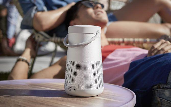 360°に音が拡がる!?BOSEの新型スピーカー「SoundLink Revolve」で、音楽の楽しみ方がもっと自由に