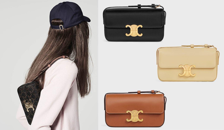 セリーヌの人気バッグ「トリオンフ」の新作