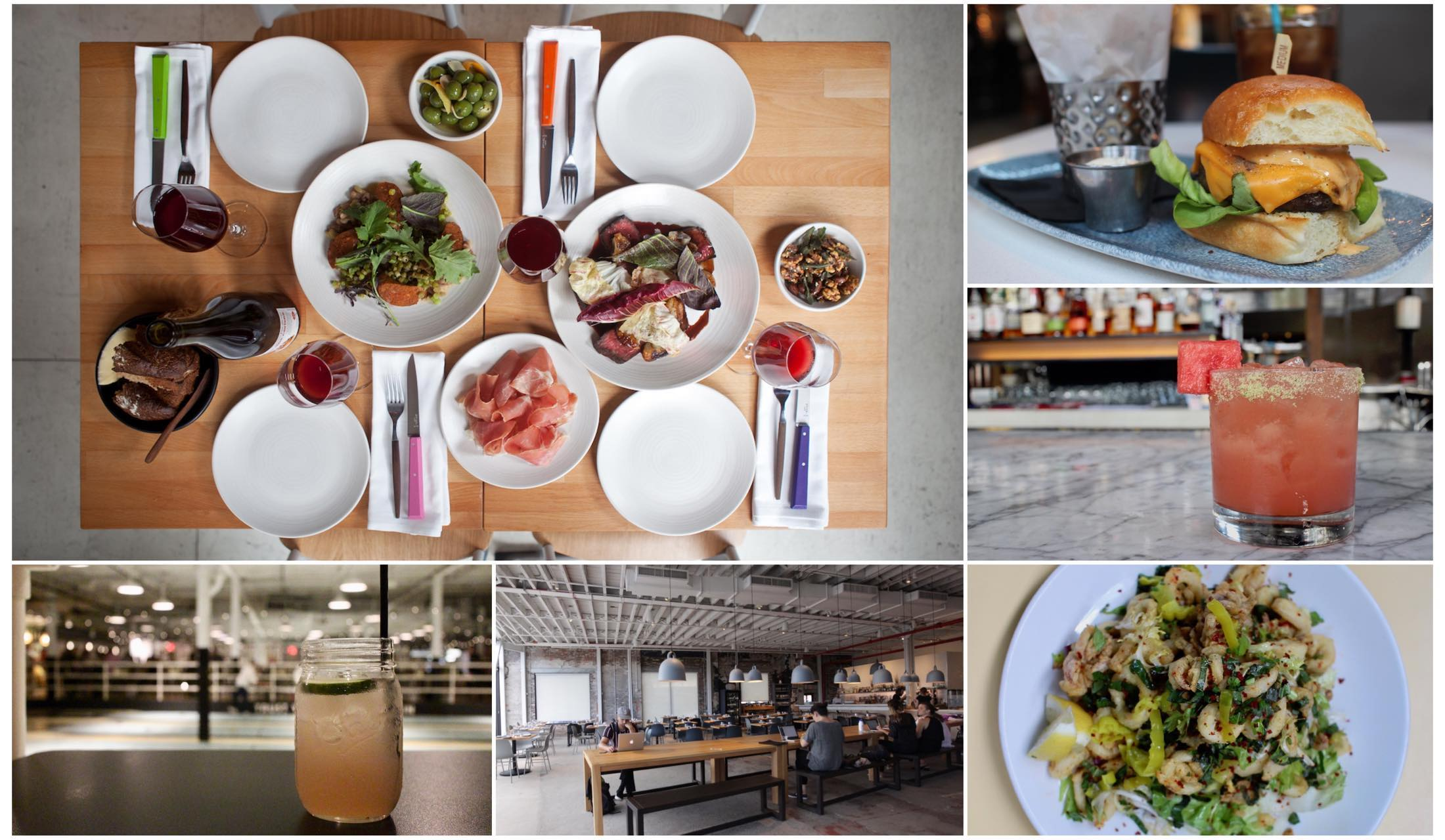 ブルックリンにあるレストランやフードの写真