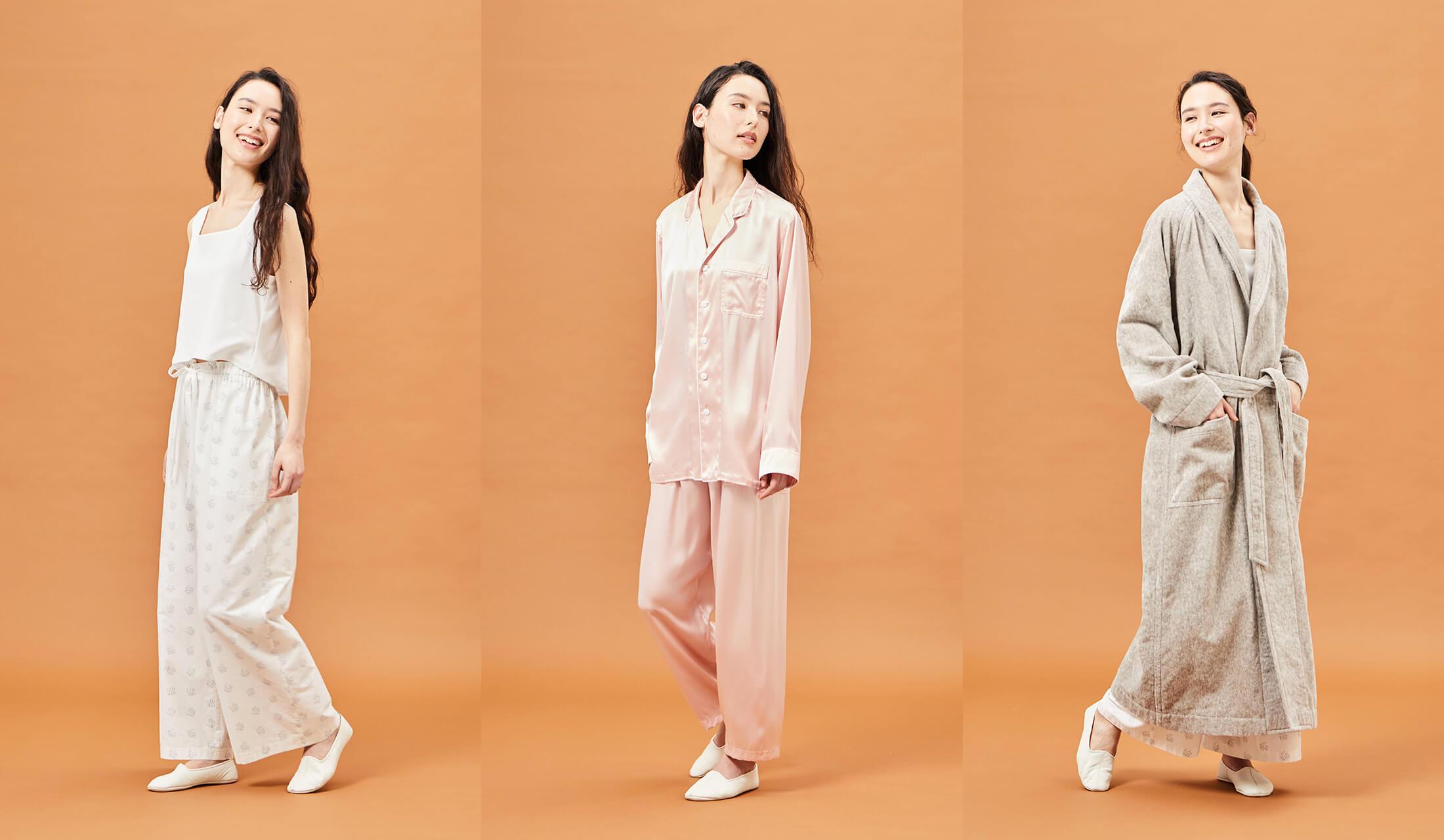 高級パジャマを着た女性たち