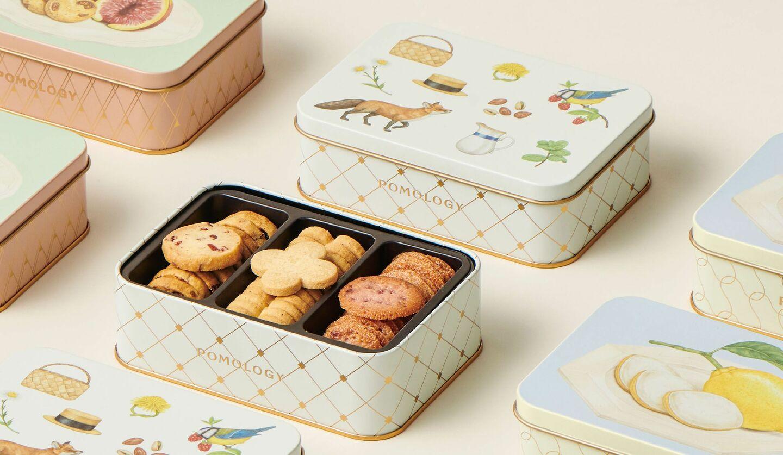 「ポモロジー」のクッキーボックス ベリーズ