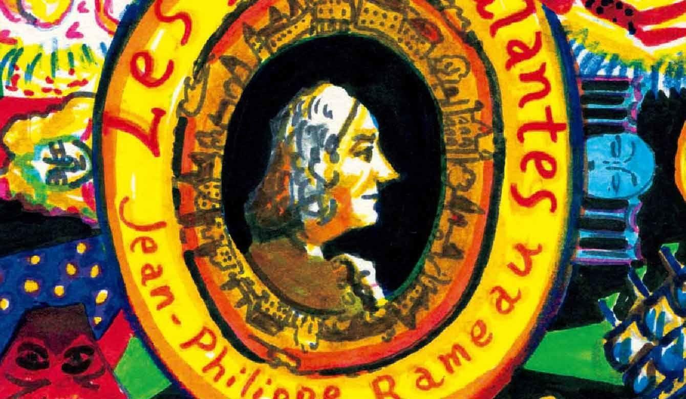 ジャン=フィリップ・ラモー、優雅なインドの国々のイラスト