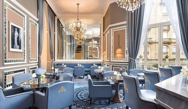 ホテルマリアクリスティーナの朝食の風景