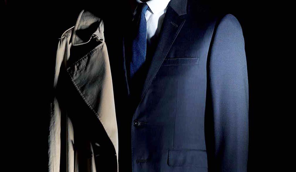 バーバリーのスーツ