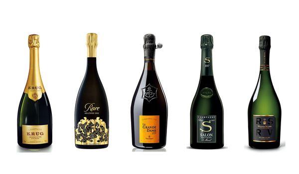 ヴーヴ・クリコやペリエ ジュエなど有名なシャンパン・ブランドの「最上級シャンパン」8選