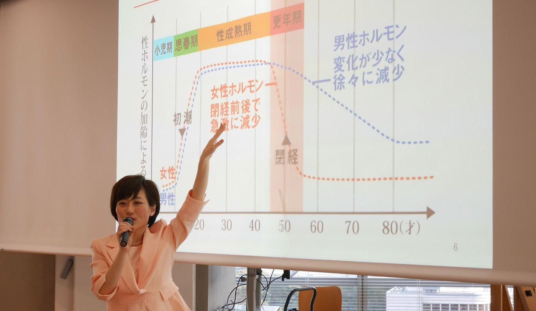 NPO法人「ちぇぶら」代表理事永田京子さん