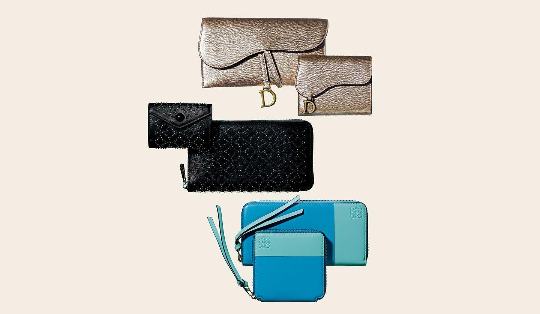 ディオール、アライア、ロエベのアンサンブル財布