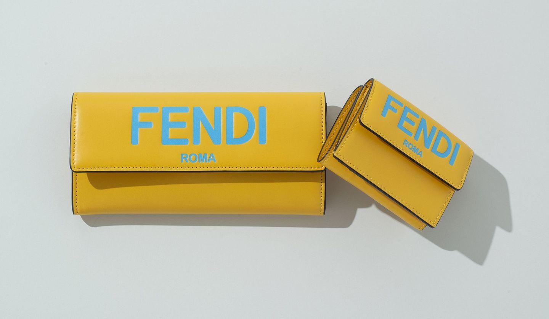 フェンディの「コンチネンタル財布」と「マイクロ 三つ折り財布」の新作