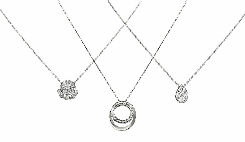 カルティエのダイヤモンドのネックレス (c) Cartier