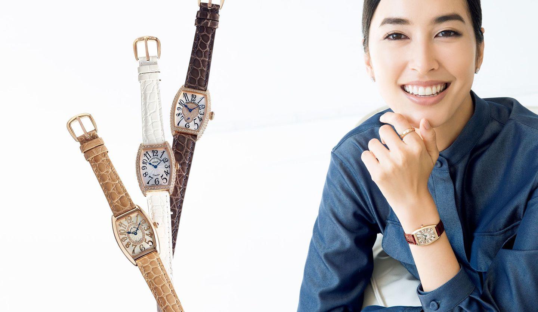 フランク ミュラーのコレクション「トノウ カーベックス」の腕時計