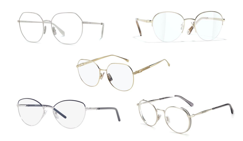 シャネル、フェンディ、セリーヌ、プラダ 、ジミー チュウの眼鏡