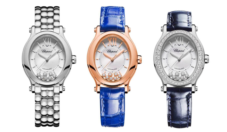 ショパールの時計「ハッピースポーツ オーバル」
