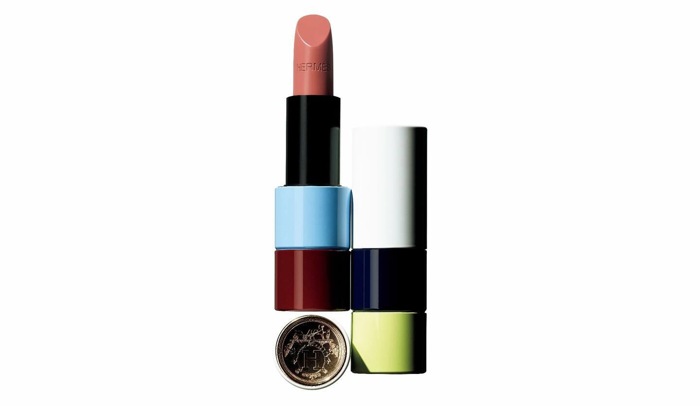 エルメスルージュ エルメス ルージュ ア レーヴル サティネ 45 ¥8,000限定色(写真右は32 ローズ・ポメット)
