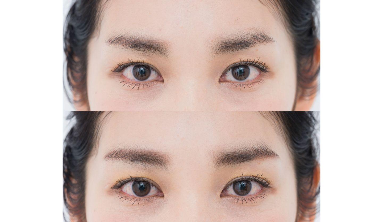 眉のBefore、After画像