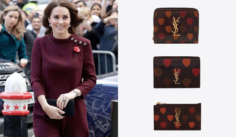 キャサリン妃が着こなす「ゴート」のワンピース、「サンローラン」の新作財布