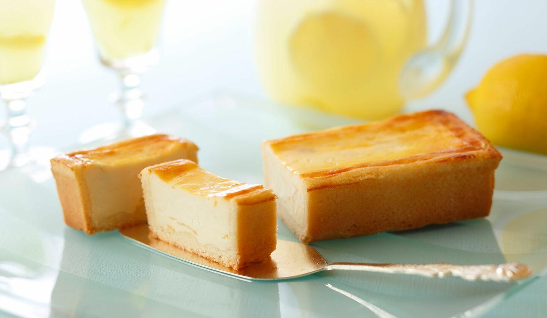 資生堂パーラー「夏の手焼きチーズケーキ(レモン)」