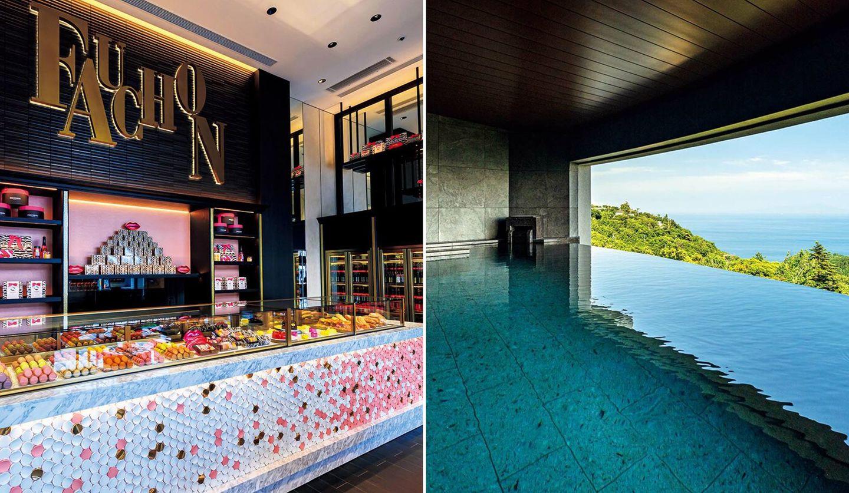 京都の「フォションホテル」と「伊豆ホテル リゾート&スパ」