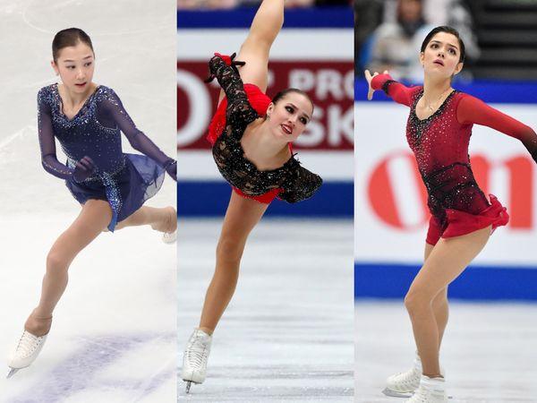 【総まとめ】ザギトワ選手や紀平選手…世界フィギュアの激戦を勝ち抜いた、美しき女子スケーターたち