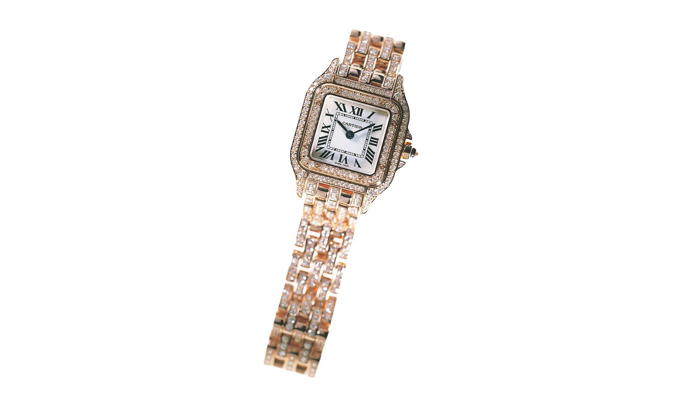 カルティエの時計「パンテール ドゥ カルティエ」
