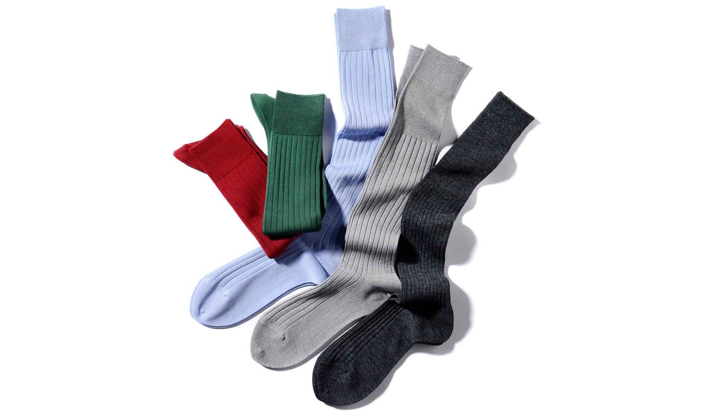 シークとハリソンと福助の機能系靴下