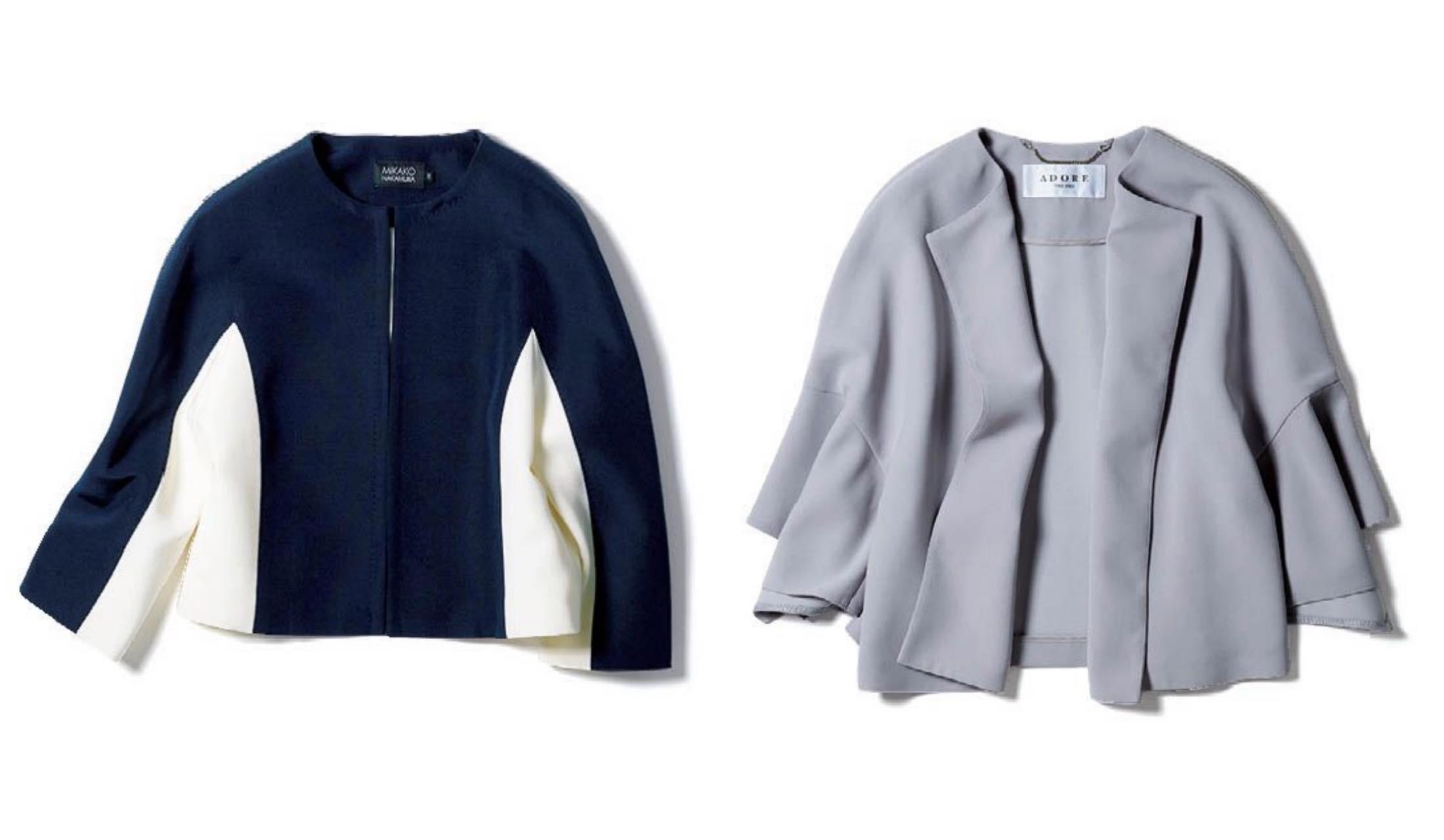 ミカコ ナカムラとADOREの「ボレロ丈」ジャケット
