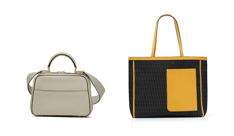 ヴァレクストラの新作バッグ 左/「SerieS」、右/「K-Val Tote」