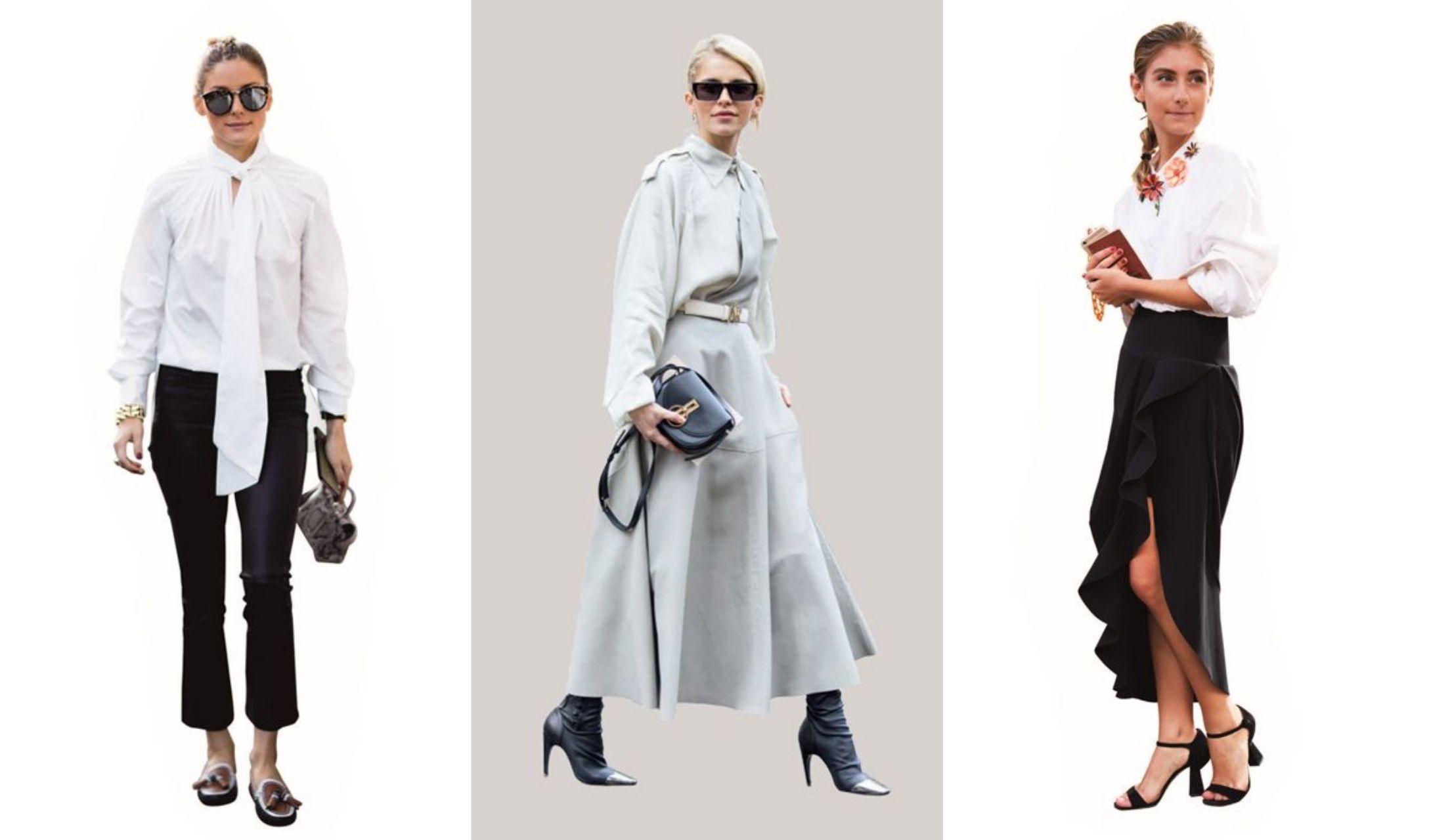 海外セレブの秋のモード系ファッションスタイル