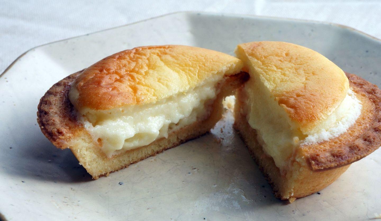 BAKEのチーズタルト(断面)