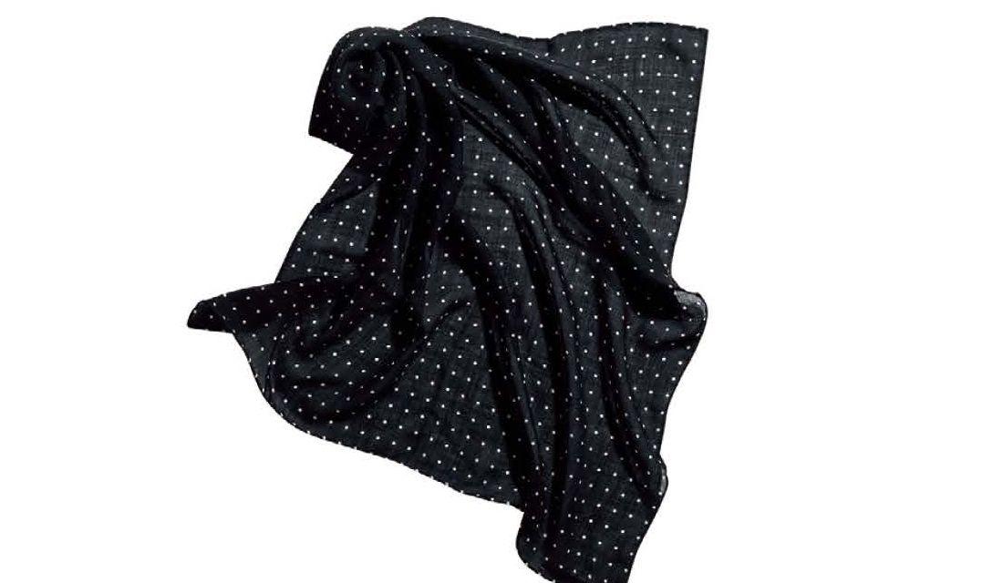 ベグ アンド コーのコンパクトなドット柄スカーフ