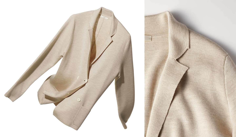 「ザ・ロウ」のニットジャケット