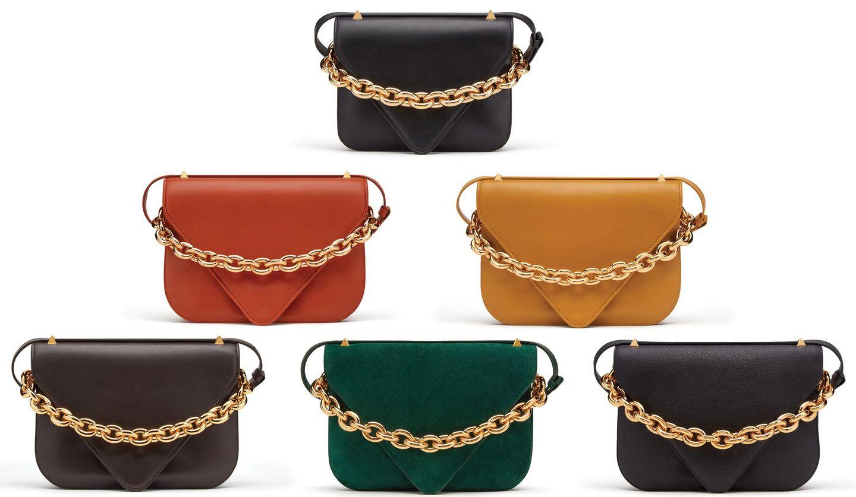 ボッテガ・ヴェネタの新作バッグ「マウント」