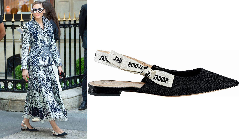 ディオールの靴とオリヴィア・パレルモ