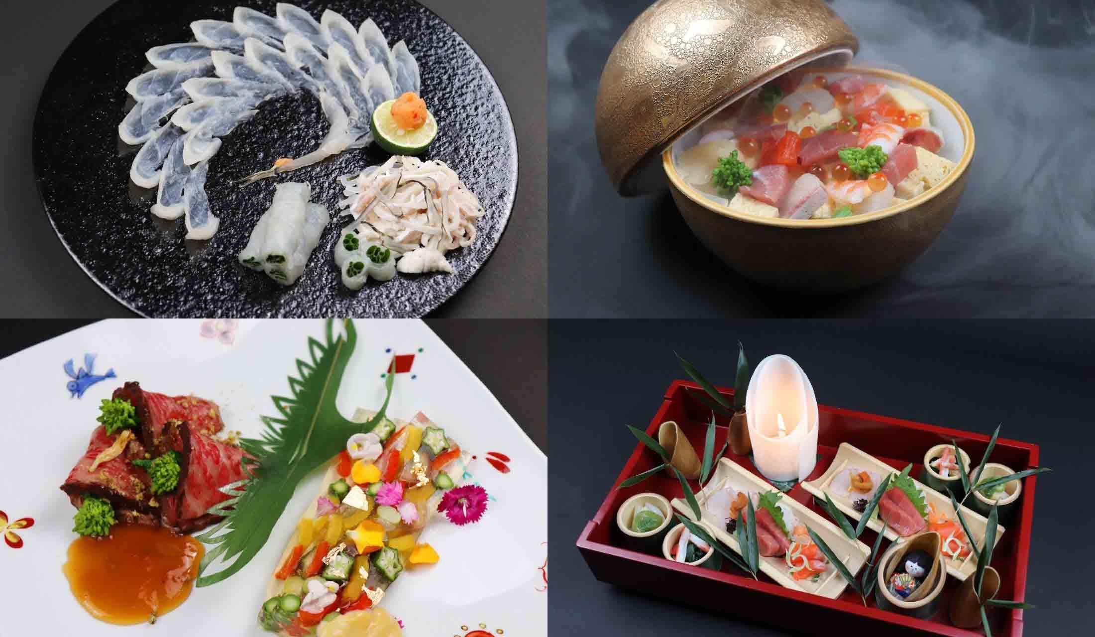 魚月のコース料理