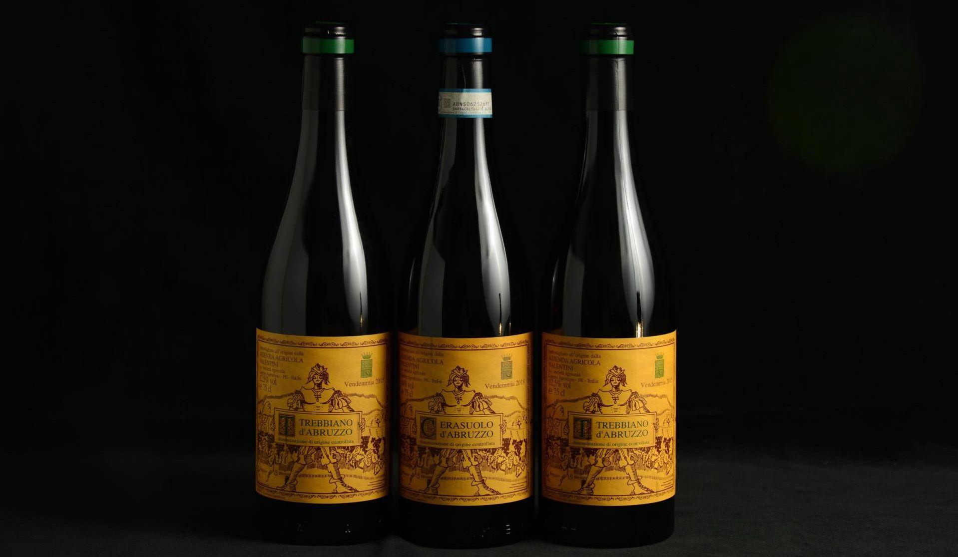 ヴァレンティーニのワイン