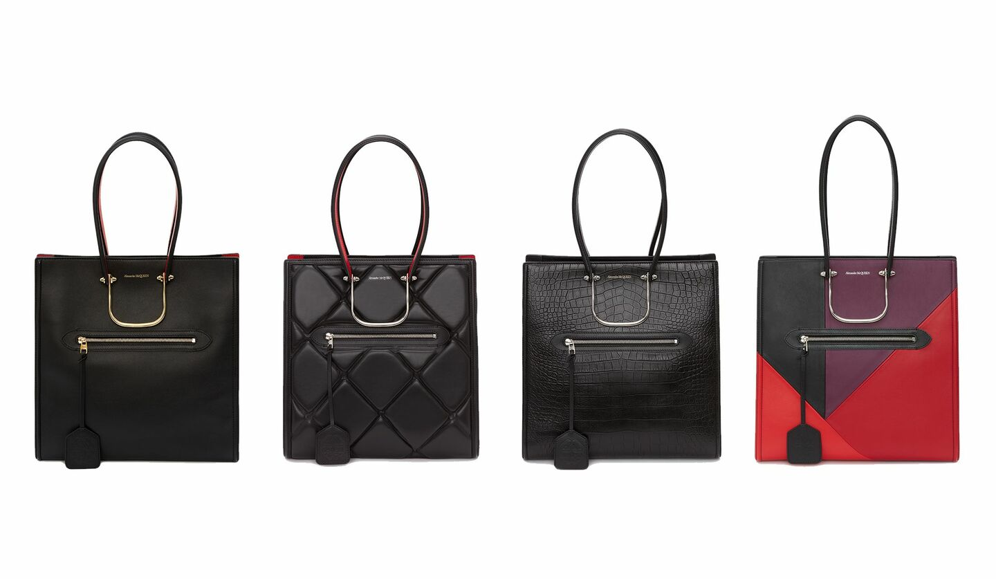 ALEXANDER McQUEEN(アレキサンダー・マックイーン)2020秋冬の新作トートバッグ「THE TALL STORY BAG(トールストーリーバッグ)」