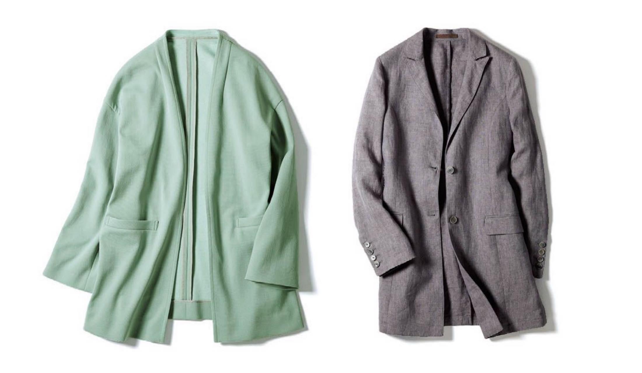 スキャパ、イレブンティのコートジャケット