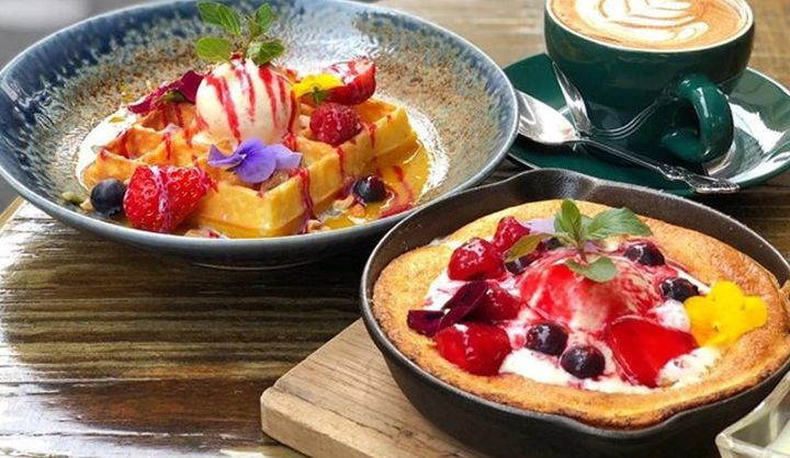 Captain Cook Tokyo(キャプテンクックトーキョー)の『ホットケーキ』(港区南麻布)