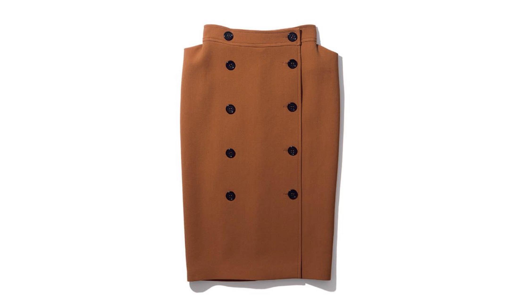 ボッテガ・ヴェネタのひざ下丈スカート
