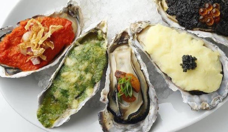 ガンボ&オイスターバーNU茶屋町店の牡蠣料理