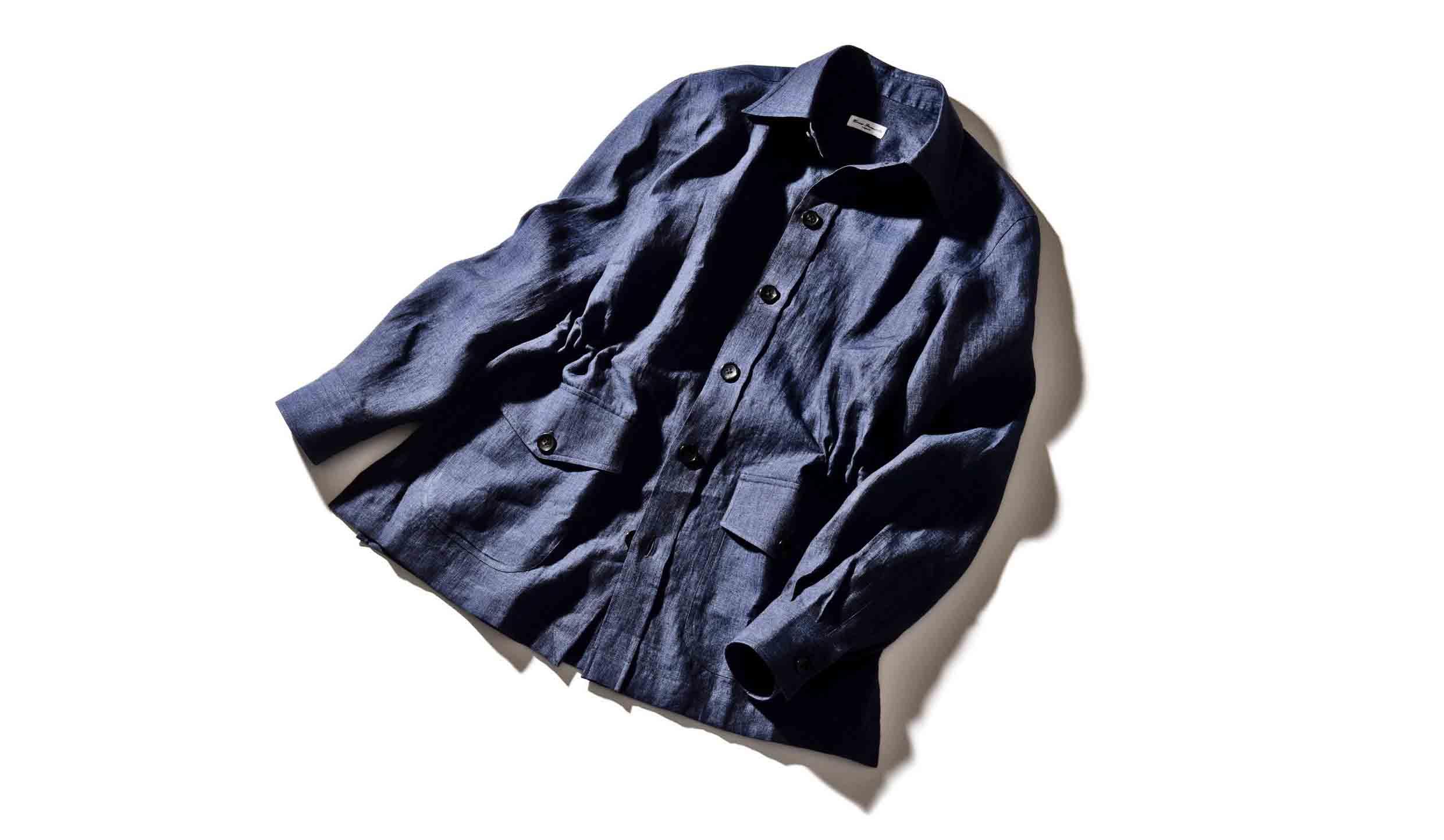 エリコフォルミコラのシャツジャケット