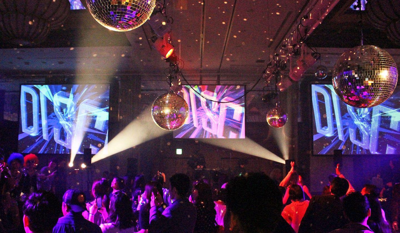 神戸メリケンパークオリエンタルホテルにて、昨年行われたディスコイベント「OCEAN DISCOTIQUE(オーシャン ディスコティーク)」