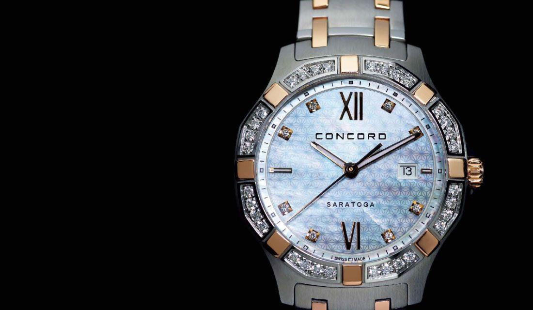コンコルドの時計『サラトガ』