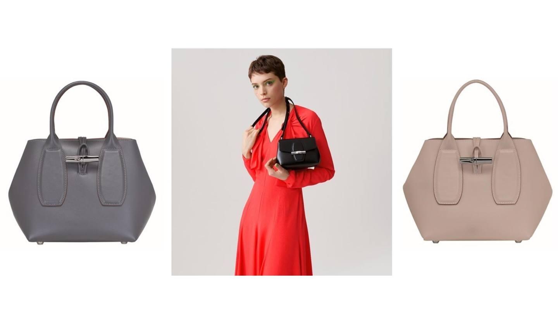 キューブバッグやクロスボディなど、ロンシャン「ロゾ」新モデル