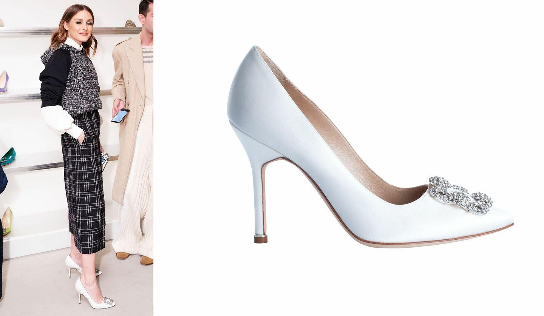 女性と靴の写真
